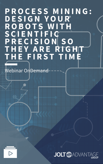 Process Mining - Design Your Robots With Scientific Precision So They Are Right The First Time - Cover