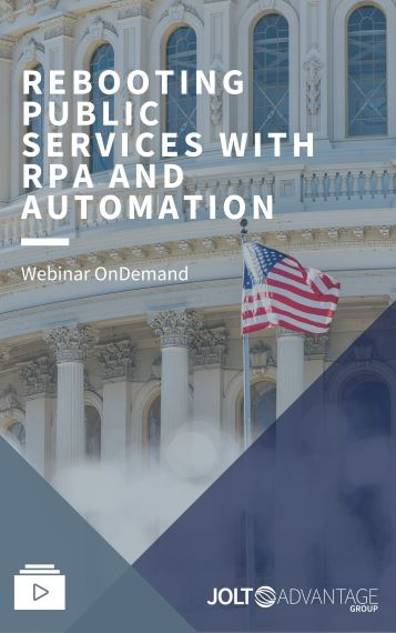 Rebooting Public Services With RPA and Automation Cover